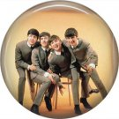 The Beatles on a 1 Inch Pinback Button Badge Pin - 6083