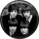 The Beatles on a 1 Inch Pinback Button Badge Pin - 6085