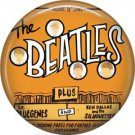 The Beatles on a 1 Inch Pinback Button Badge Pin - 6088