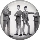 The Beatles on a 1 Inch Pinback Button Badge Pin - 6094