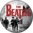 The Beatles on a 1 Inch Pinback Button Badge Pin - 6096
