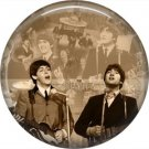 The Beatles on a 1 Inch Pinback Button Badge Pin - 6112
