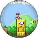Mario on Tower, Video Games 1 Inch Pinback Button Badge Pin - 0771