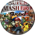 Super Smash Bros., Video Games 1 Inch Pinback Button Badge Pin - 0777