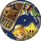 Mario Bros., Characters, Video Games 1 Inch Pinback Button Badge Pin - 0780