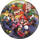 Mario Bros. Characters, Video Games 1 Inch Pinback Button Badge Pin - 0784