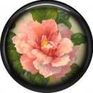 Pink Rose 1 Inch Pinback Button Badge Pin - 0228