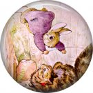 The Tale of Peter Rabbit 1 Inch Pinback Button Badge Pin - 6246