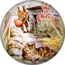 The Tale of Peter Rabbit 1 Inch Pinback Button Badge Pin - 6249