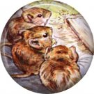 The Tale of Peter Rabbit 1 Inch Pinback Button Badge Pin - 6250