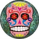 Dia de los Muertos Sugar Skull 1 inch Button Badge Pin - 6273
