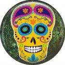 Dia de los Muertos Sugar Skull 1 inch Button Badge Pin - 6274