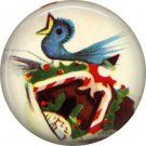Mid Century Retro Christmas Image on a 1 inch Button Badge Pin - 3090