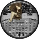 I Love New York Vintage Image on a 1 inch Button Badge Pin - 6301