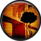 I Love New York Vintage Image on a 1 inch Button Badge Pin - 6302