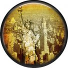 I Love New York Vintage Image on a 1 inch Button Badge Pin - 6303