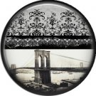 I Love New York Vintage Image on a 1 inch Button Badge Pin - 6307