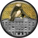 I Love New York Vintage Image on a 1 inch Button Badge Pin - 6311
