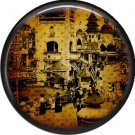 I Love New York Vintage Image on a 1 inch Button Badge Pin - 6318