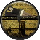 I Love New York Vintage Image on a 1 inch Button Badge Pin - 6319
