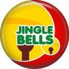 Jingle Bells, 1 Inch Be Merry Pinback Button Badge Pin - 3049