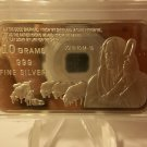 10 Grams Proof .999 Fine Silver Bar / John 10:14-15.