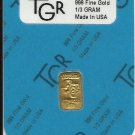 GOLD 5 gr. 24K .999 PURE Gold PREMIUM BULLION BAR