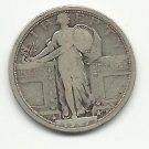1917 TY1 #1 90% Silver Standing Liberty Quarter.