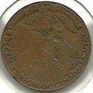 Royal Visit Medallion - George VI 1939 CANADA TOKEN #3