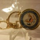 Gold Presidential Seal Key Chain
