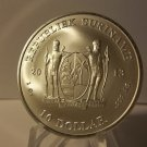 2013 Gem BU Suriname 1 OZ Silver coin