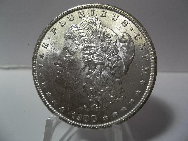 1900 #3 90% Silver Morgan Dollar.