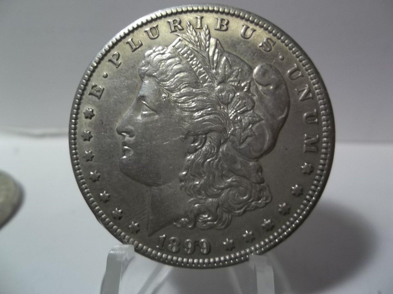 1899-O #3 90% Silver Morgan Dollar.