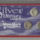 A 3-coin 90% Silver Mercury Dime Special Edition Collection.