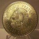 1948 Gem BU Mexico 5 Pesos 90% Silver
