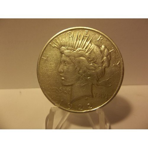 1922-D #5 90% Silver Peace Dollar.