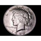 1922-D #2 Peace 90% Silver Dollar.