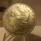 1878 #8  90% Silver Morgan Dollar 3rd Reverse