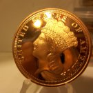 Gem BU Version of A Indian Head Cent- 1 Oz. Copper