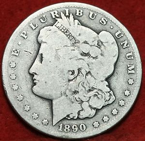 1890-CC #1 Key Rare Date Morgan 90% Silver Dollar