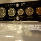 Brilliant Uncirculated 1958-P & D Silver Mint Sets.