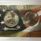 "BU 2015-P/D  ""Blue Ridge Parkway-N.C.""  America the Beautiful Quarter Commemorative Collections"