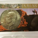 BU 1974-D Ike Dollar in Special Presentation Case.