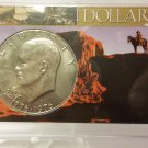 BU 1976-D Type I  Ike Dollar in Special Presentation Case .