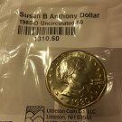 1980-D BU-60 Susan B. Anthony (S.B.A.) Dollar from Littleton Coin Co.
