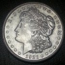 1921-S #4 90% Silver Morgan Dollar.