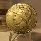 1934-S #2 90% Silver Peace Dollar.