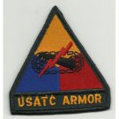 US Army USATC Armor Division Patch