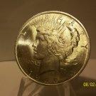 1923 #10 BU MS-63 Peace 90% Silver Dollar.