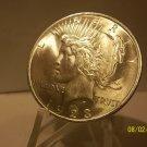 1923 #11 BU MS-63 Peace 90% Silver Dollar. .